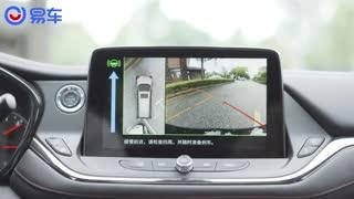 易车视频:近5米的车长,好停车吗?开拓者自动泊车体验