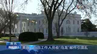 """美媒:白宫工作人员收""""乌龙""""邮件引混乱"""