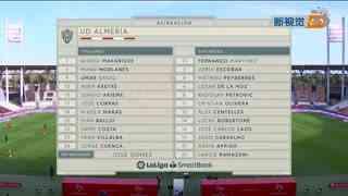 2021西乙联赛第18轮:阿尔梅里亚-马拉加