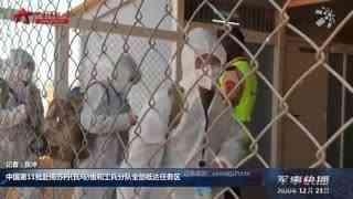 【军事快播】中国第11批赴南苏丹(瓦乌)维和工兵分队全部抵达任务区