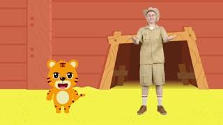贝乐虎动物音乐派对英文版 第12集