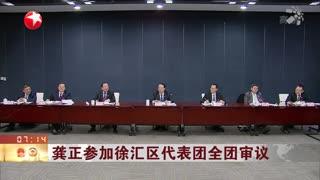 龚正参加徐汇区代表团全团审议