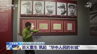 """奋斗百年路 启航新征程 新四军:用热血筑起""""华中人民的长城"""""""
