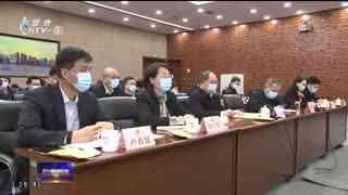 杭州新闻联播_20210220_十省百城联动 2021杭州跨区域合作线上招聘大会开启