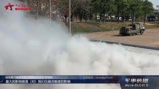 【军事快播】【记者在战位】直击防化分队综合应急救援演练