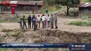 【军事快播】刚果(金):中国维和工兵分队完成3处道路涵管修复任务