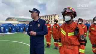 灾后消防安全第一课:青海玉树消防救援支队前往灾区寄宿学校