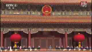 现场:演唱《中华人民共和国国歌》