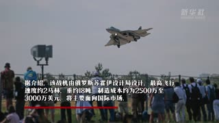 第15届莫斯科航展开幕 俄新型单发五代战斗机亮相