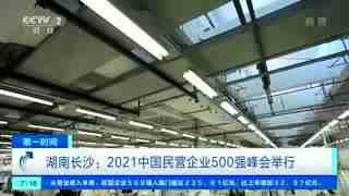 2021中国民营企业500强榜单发布