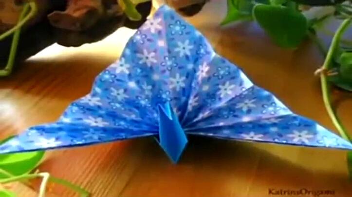 手工制作纸食物薄饼 折纸教程