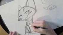 《疯狂动物城》导演Byron Howard亲手教你如何画狐尼克