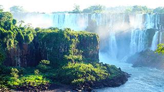 世界最宽瀑布 伊瓜苏大瀑布