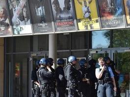慕尼黑发生枪击案 致多人死伤 警方搜捕嫌犯