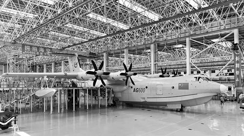 ag600总装下线 最大水路两栖飞机