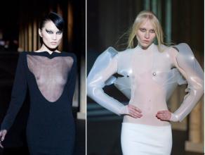 法国巴黎透明内衣秀