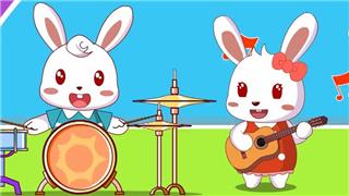 兔小贝儿歌之宝宝爱上幼儿园
