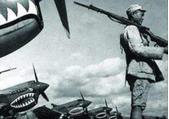 现飞虎队飞机残骸 或为上世纪40年代中期爆炸掉到岷江!