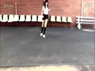 美女 鬼步舞 曳步舞 教学视频