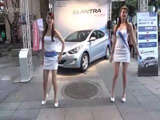 美女车模热舞