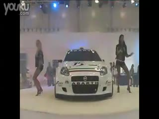 性感车模美女热舞视频