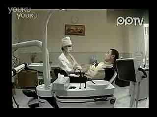 爆乳牙医美女诱惑男人 搞笑视频经典短片--华数