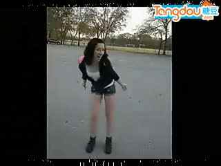 2012年最好的美女鬼步舞视频