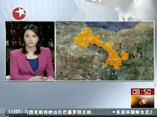 甘肃/甘肃定西地震:岷县地震消防车赶往震中通信中