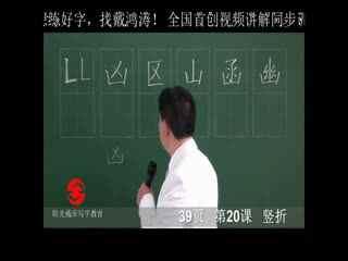 成人练字必看, 戴 鸿涛硬笔 书法 钢笔字教学视频