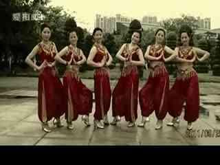 印度舞 去吧爱情(背面分解)教学   周思萍广场舞 印度舞