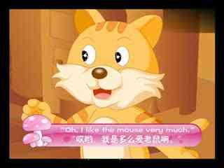 儿童英文故事 猫和老鼠做朋友