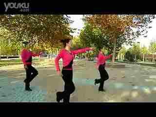 云裳广场舞 火火姑娘最新教学--华数TV-广场舞恰恰分解动作 广场舞 分