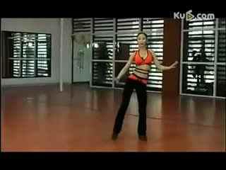 拉丁舞教学视频 美女拉丁舞