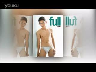 华裔 男模 MIZUNO商务男士 内裤广告拍摄花絮