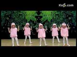 兔子舞广场舞16步少儿素材 兔子舞广场舞视频16步 广场健身舞兔子舞