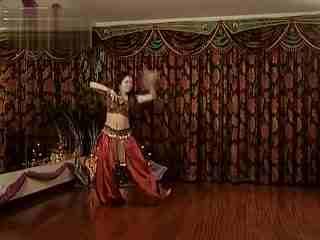 印度风情肚皮舞��.d_丽达老师印度风情肚皮舞教学完整版
