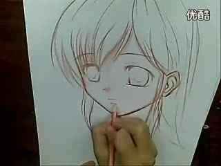 手绘动漫人物铅笔画_手绘动漫铅笔画