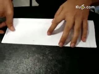 折纸艺术 如何折钻石戒指--华数TV
