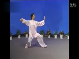 杨氏式太极拳口令_
