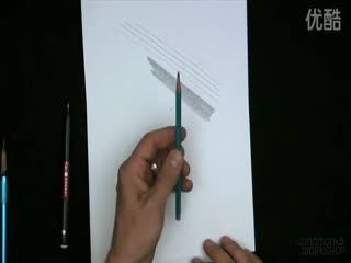 人物素描入门教程 人物素描头像6