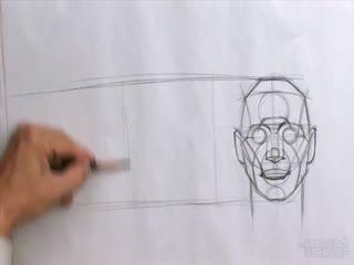 人物素描入门教程 人物素描头像2
