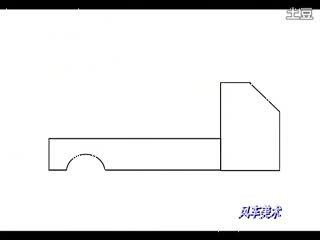 简笔画教程 大卡车