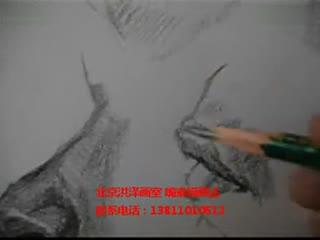 人物素描入门教学 素描教学视频 华数tv 高清图片