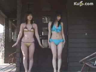 大胸日本比基尼美女性感热舞