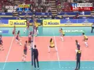 女排大冠军杯_20131112_美国女排vs巴西女排