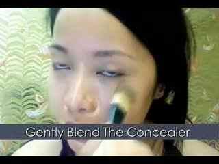 美女化妆视频 michellephan化妆教程之自然妆