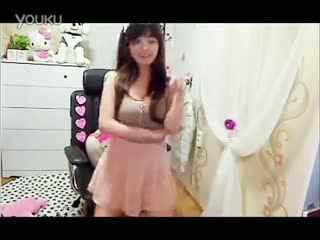 韩国美女主播钟淑甜美bj美女热舞