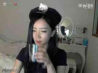韩国美女主播系列之瑟雨性感黑丝热裤热