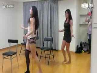 韩国美女组合rainbow组合性感现场热舞