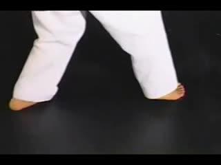 跆拳道特技腿法 跆拳道3D教学 步法教学--华数